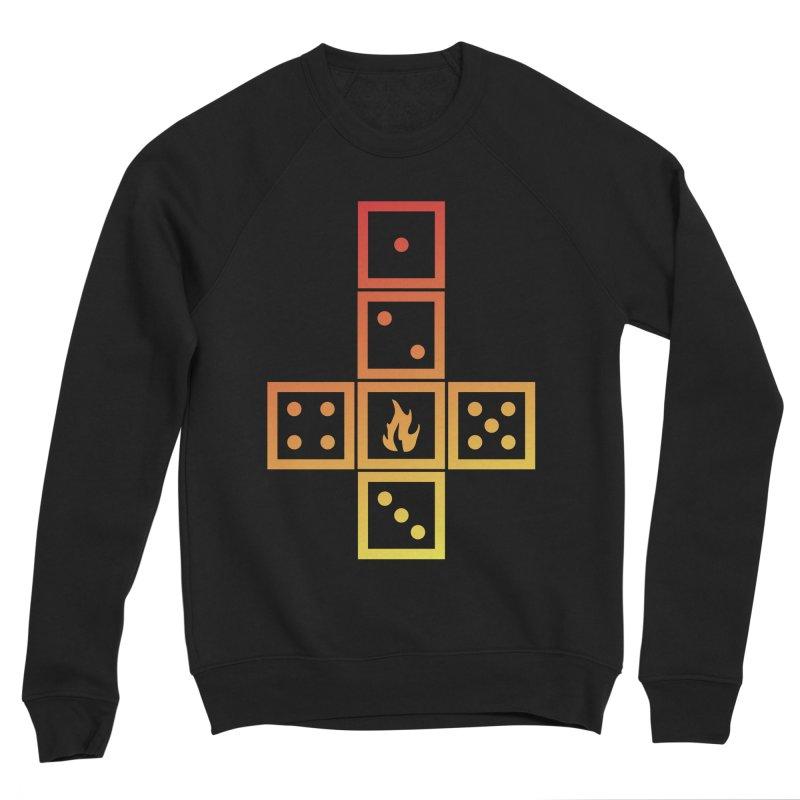 Incinerator Men's Sponge Fleece Sweatshirt by GALDREGEAR