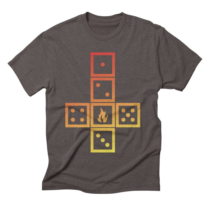 Incinerator Men's Triblend T-shirt by GALDREGEAR