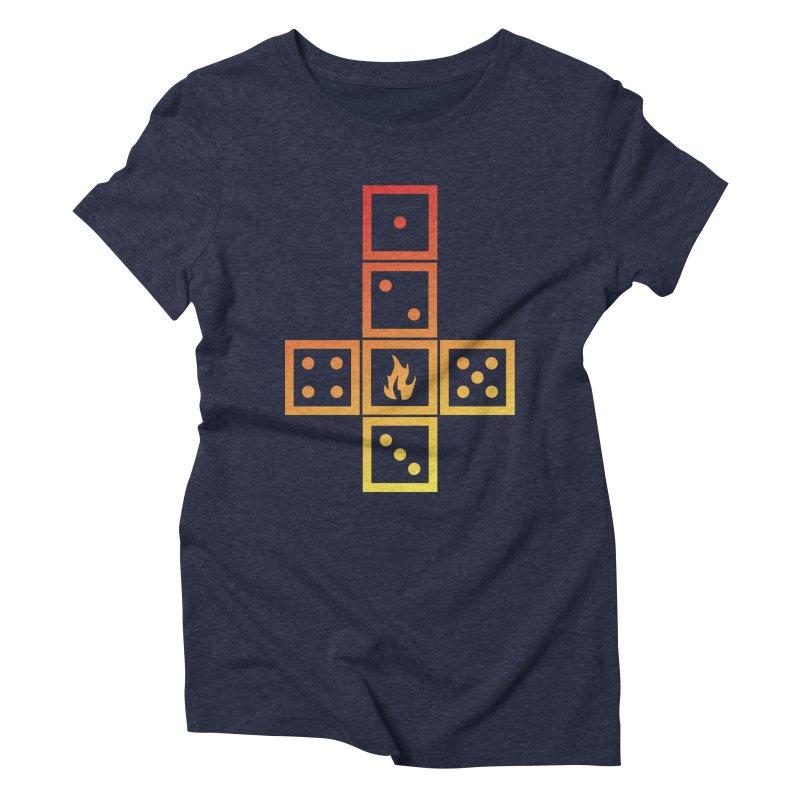 Incinerator Women's Triblend T-Shirt by GALDREGEAR