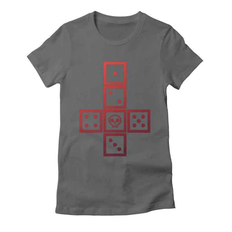 Blooded Blade Women's Fitted T-Shirt by GALDREGEAR