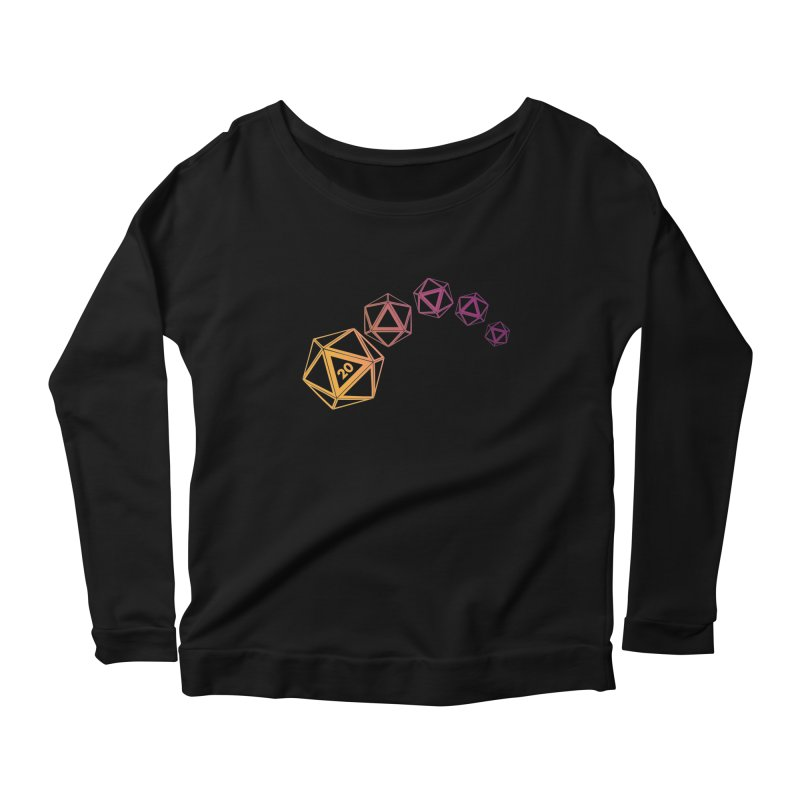 The Natural Women's Longsleeve Scoopneck  by GALDREGEAR