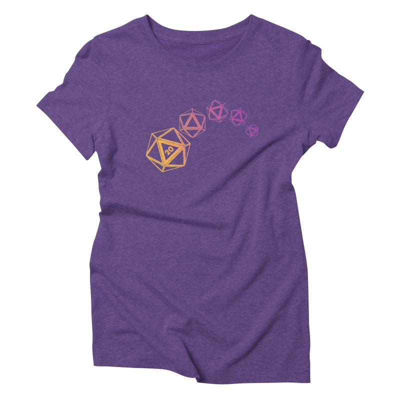 The Natural Women's Triblend T-Shirt by GALDREGEAR