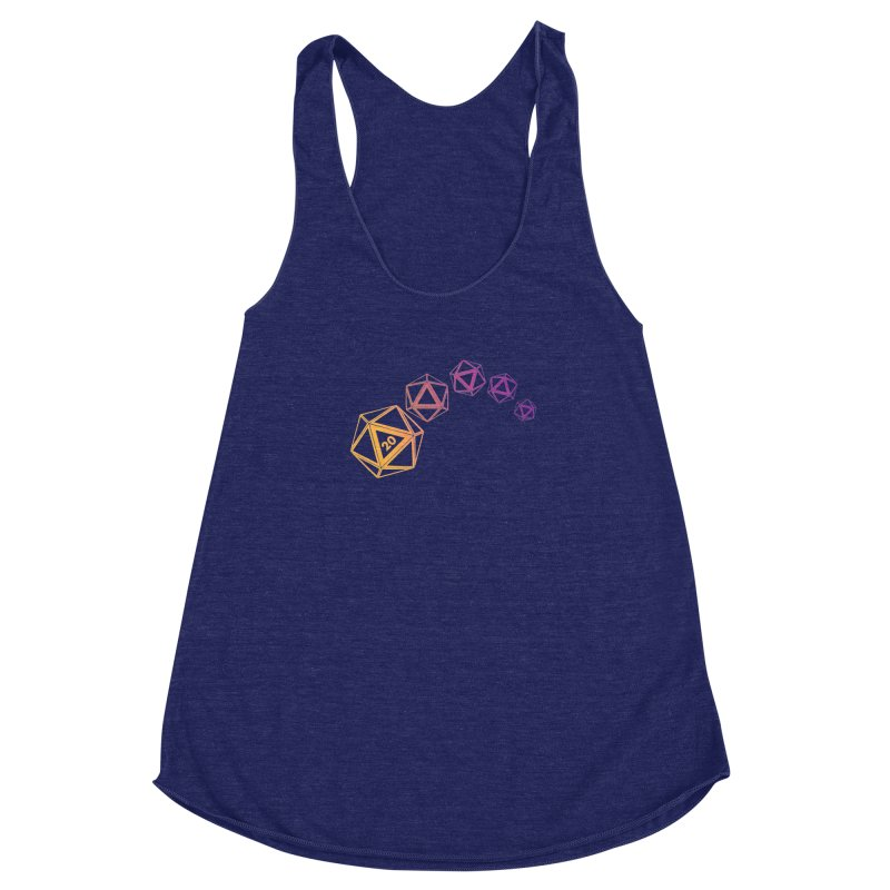 The Natural Women's Racerback Triblend Tank by GALDREGEAR