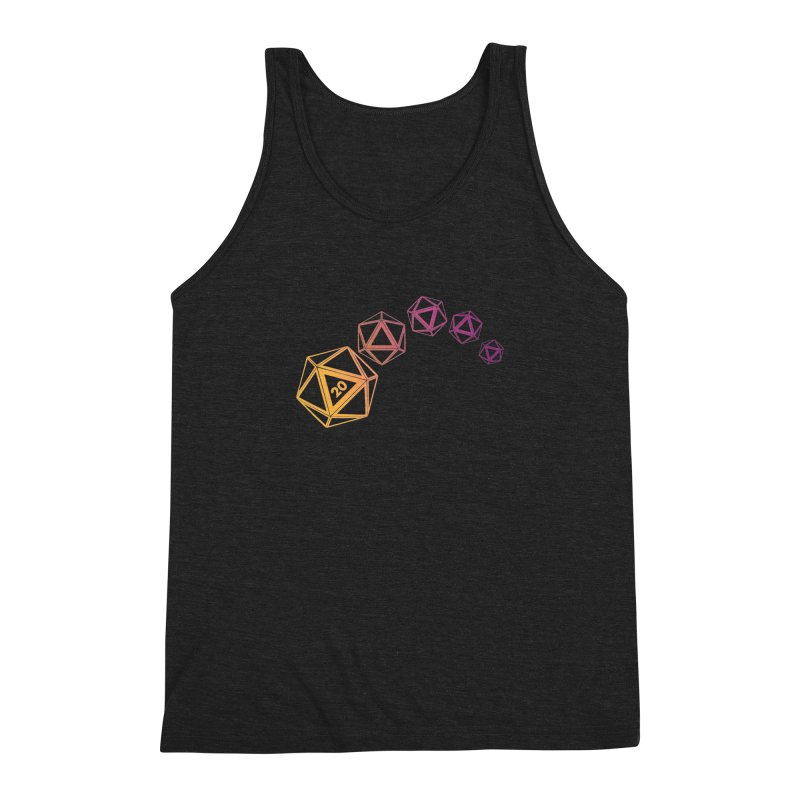 The Natural Men's Triblend Tank by GALDREGEAR