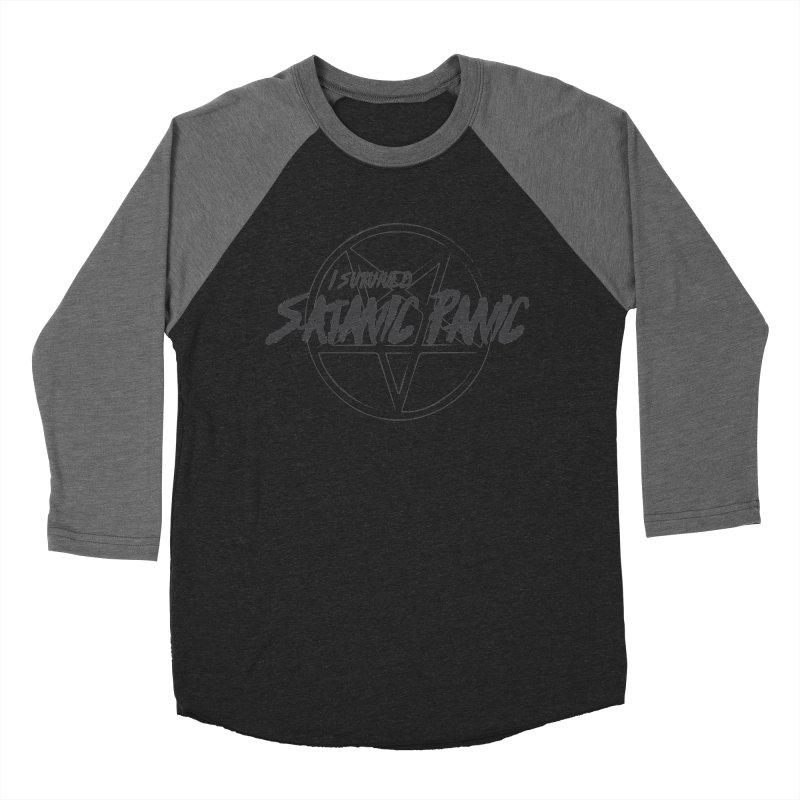 Satanic Panic - Double Devil Variant Men's Baseball Triblend Longsleeve T-Shirt by GALDREGEAR