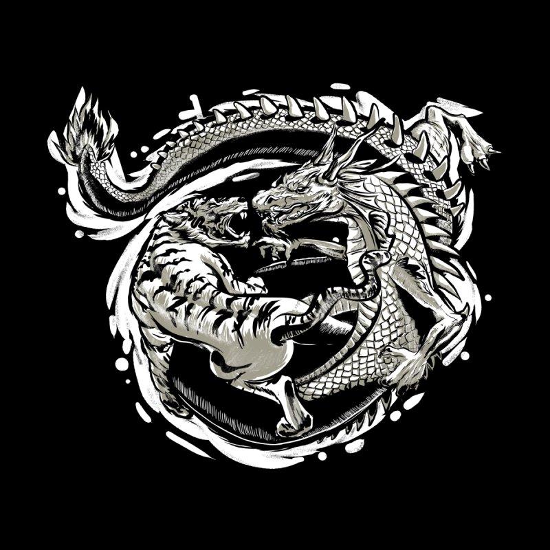 Tigers vs Dragon None  by cmn artist shop