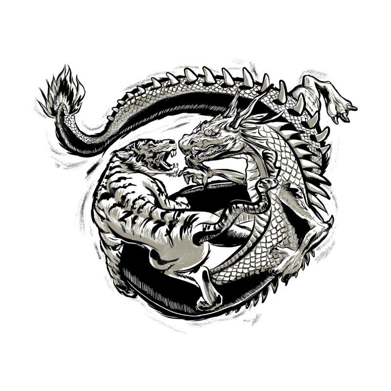 Tigers vs Dragon by cmn artist shop