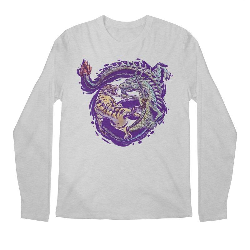 Eternal Fight Men's Longsleeve T-Shirt by cmn artist shop