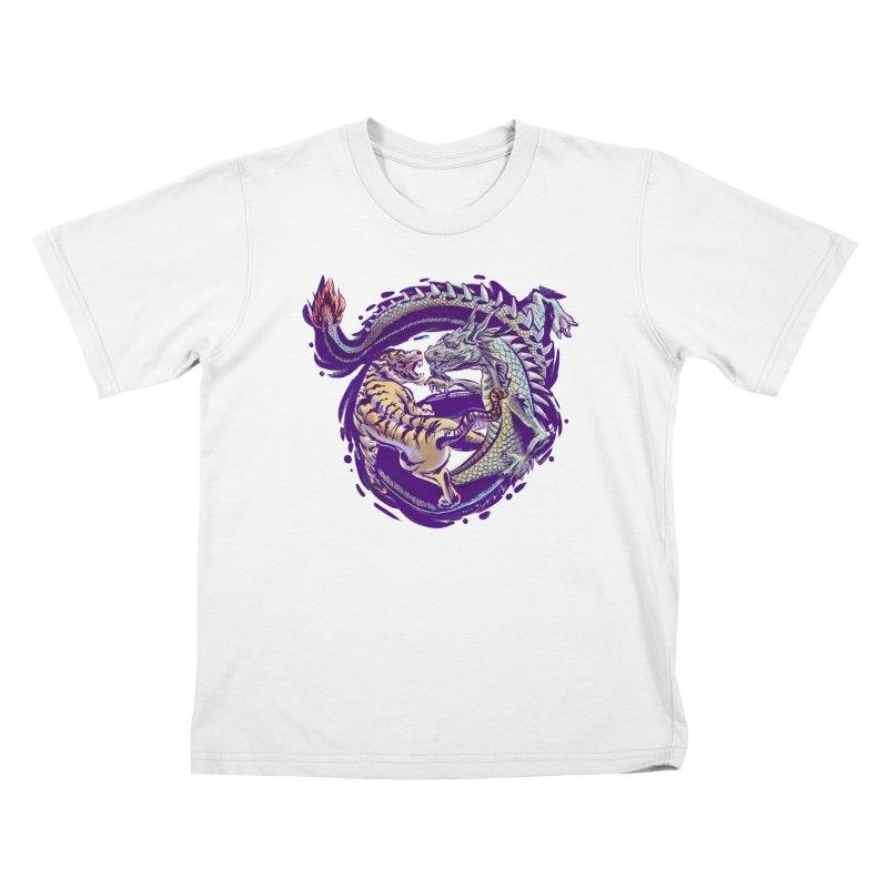 Eternal Fight Kids T-shirt by cmn artist shop