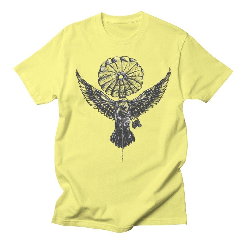 I belive i can fly Men's T-shirt by cmn artist shop