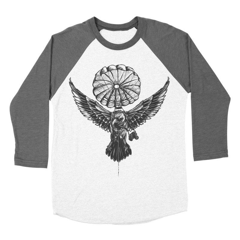 I belive i can fly Men's Baseball Triblend T-Shirt by cmn artist shop