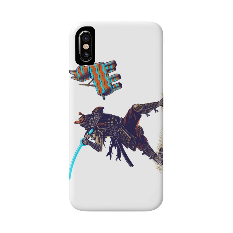 Samurai party Accessories Phone Case by cmn artist shop