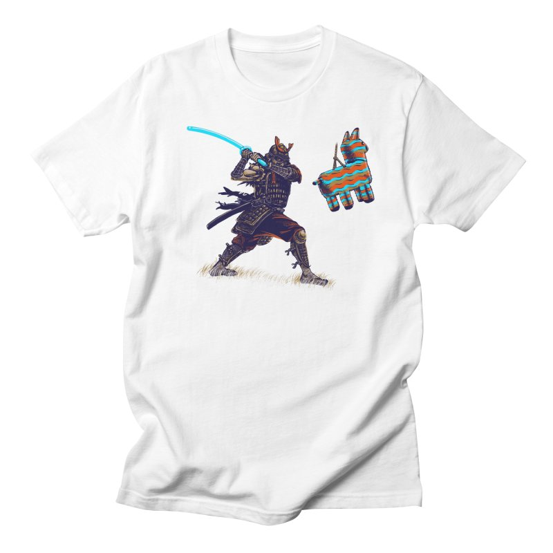 Samurai party Men's T-Shirt by cmn artist shop