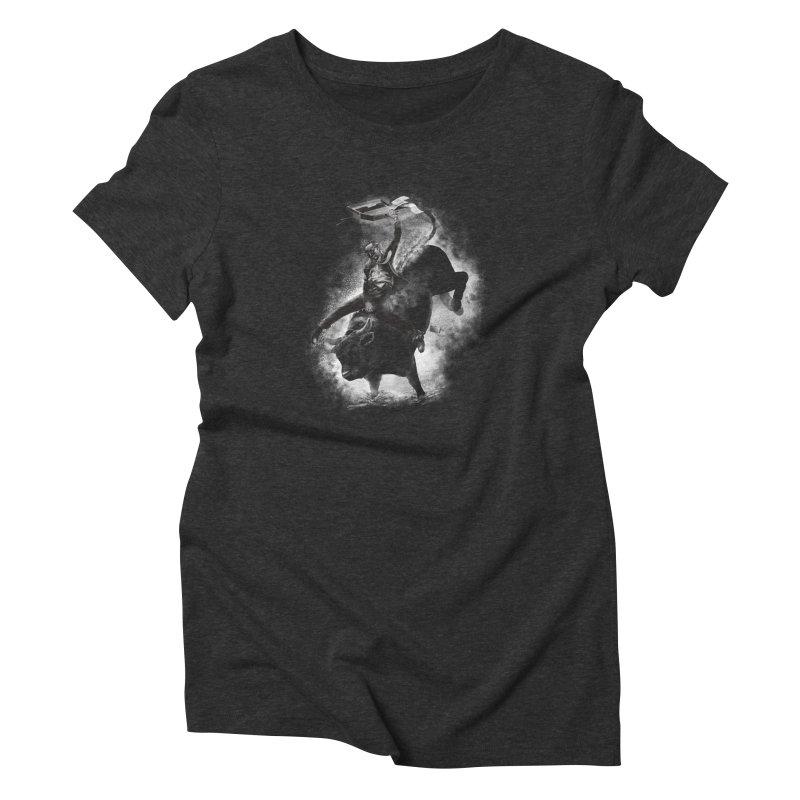 Releasing the stress Women's Triblend T-Shirt by cmn artist shop