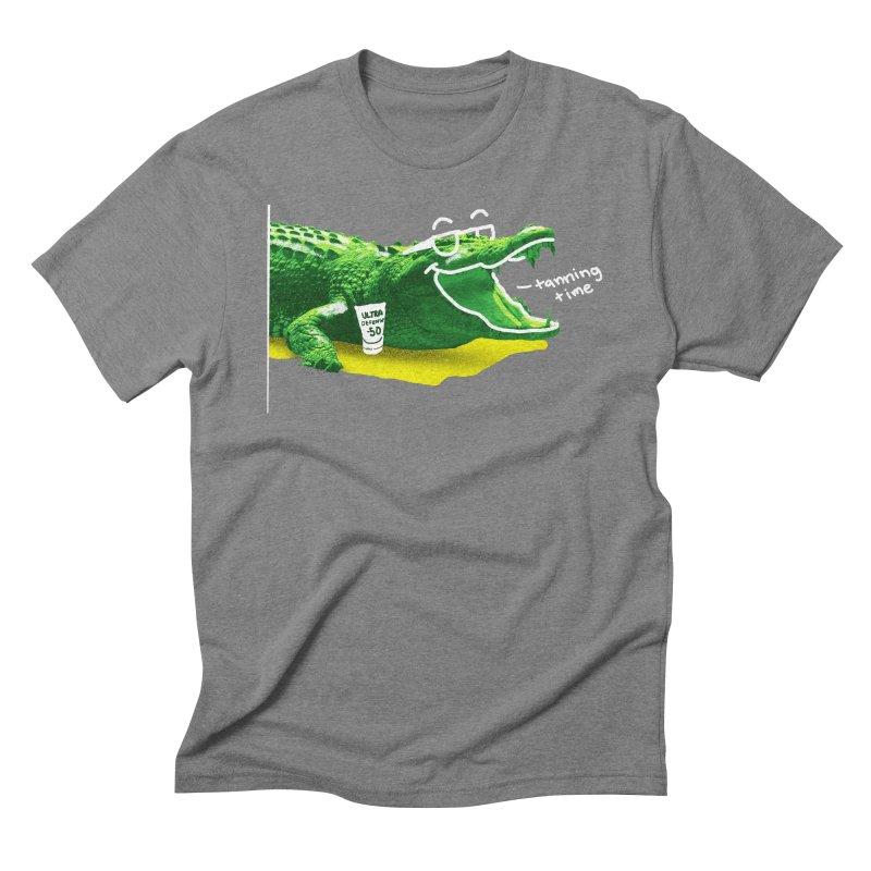 Tanning time Men's Triblend T-Shirt by cmn artist shop