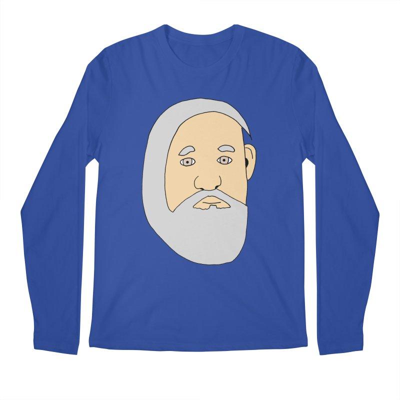 Comb Over Beard Men's Longsleeve T-Shirt by cmschulz's Artist Shop
