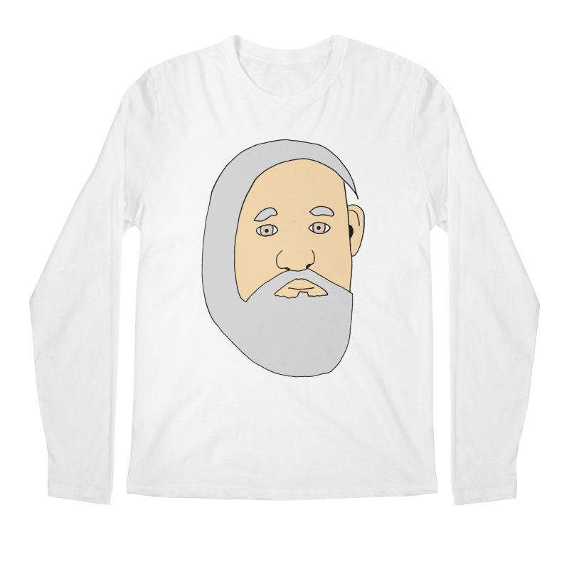 Comb Over Beard Men's Longsleeve T-Shirt by cmschulz's Artist Shop