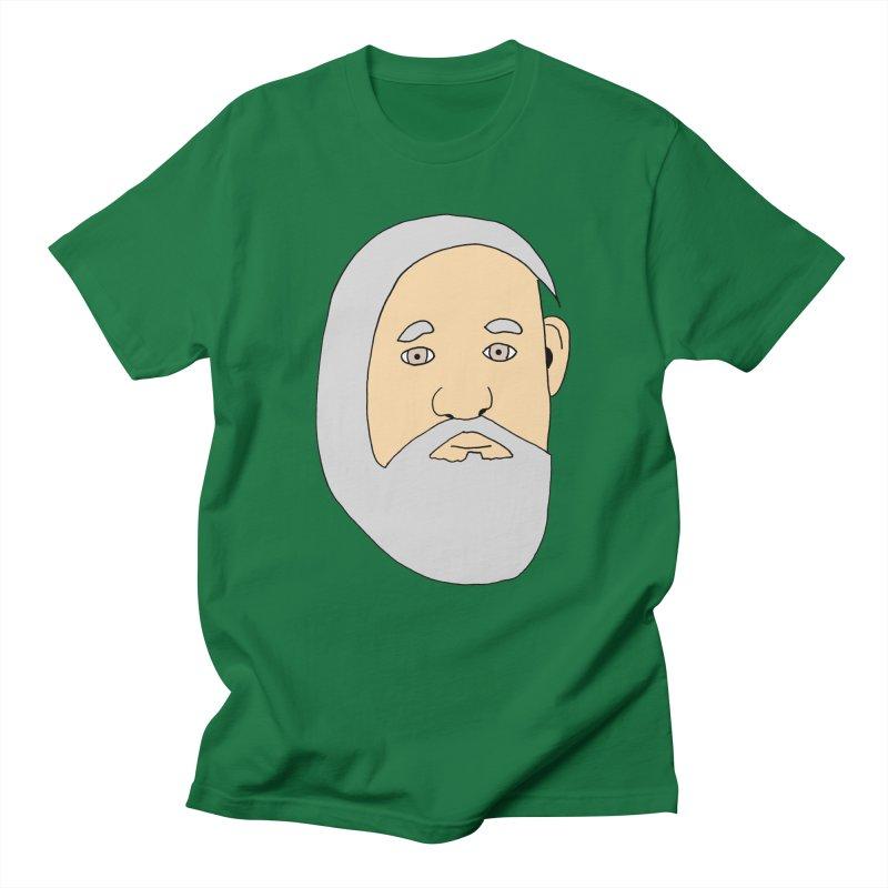 Comb Over Beard Men's T-Shirt by cmschulz's Artist Shop