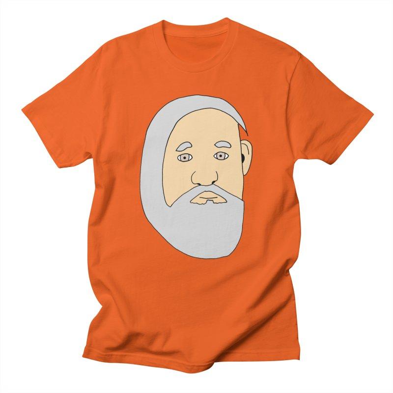 Comb Over Beard Men's Regular T-Shirt by cmschulz's Artist Shop