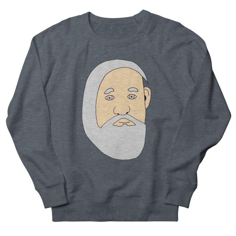 Comb Over Beard Men's Sweatshirt by cmschulz's Artist Shop