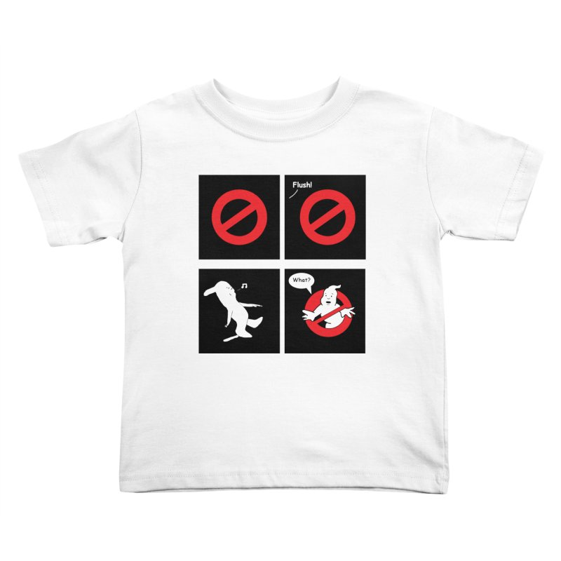 Ghostbuster Logo Takes a Break Kids Toddler T-Shirt by cmschulz's Artist Shop