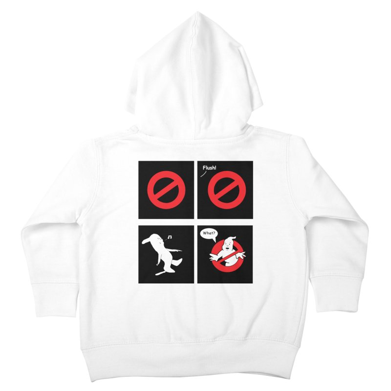 Ghostbuster Logo Takes a Break Kids Toddler Zip-Up Hoody by cmschulz's Artist Shop