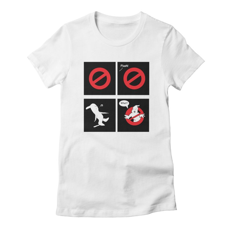 Ghostbuster Logo Takes a Break Women's T-Shirt by cmschulz's Artist Shop
