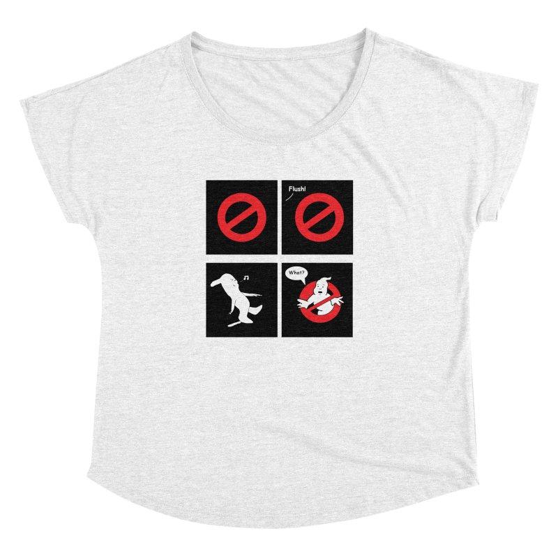 Ghostbuster Logo Takes a Break Women's Dolman by cmschulz's Artist Shop
