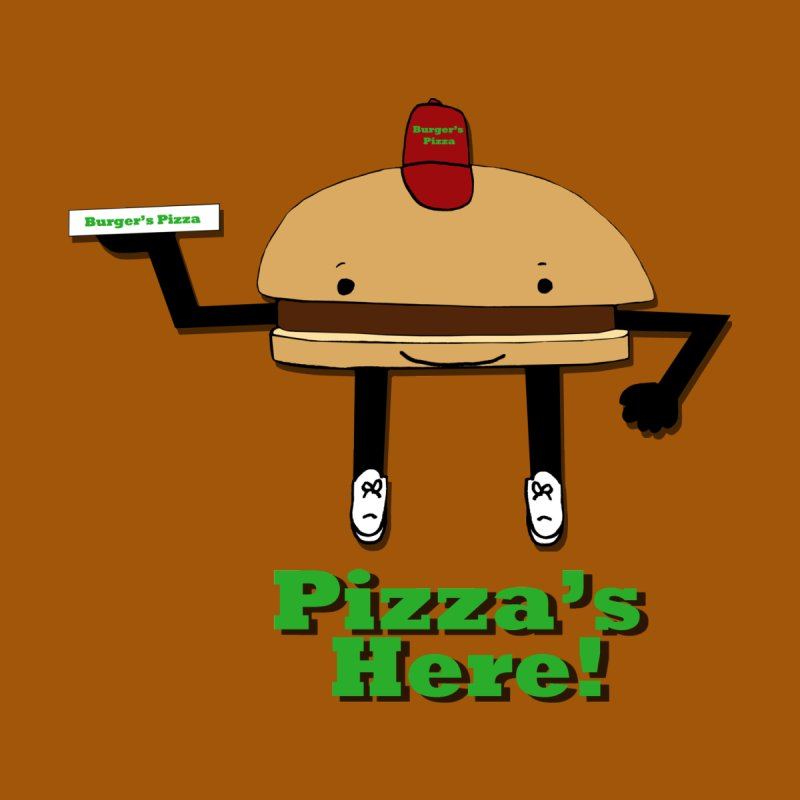 Burger Pizza Men's T-Shirt by cmschulz's Artist Shop