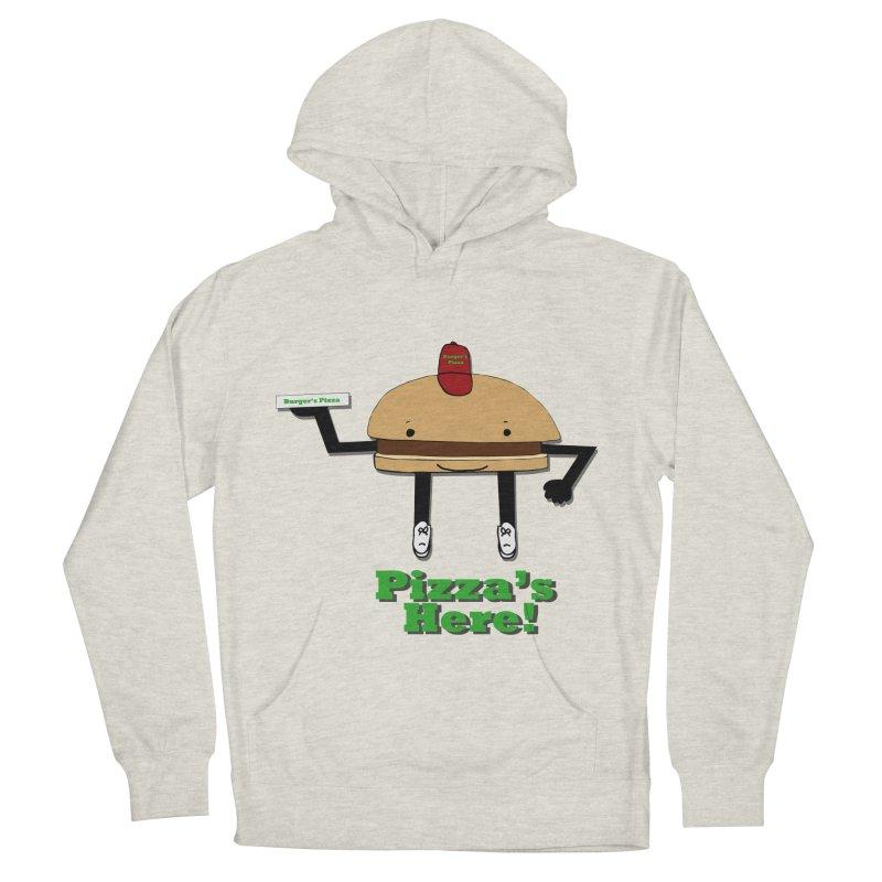 Burger Pizza Women's Pullover Hoody by cmschulz's Artist Shop