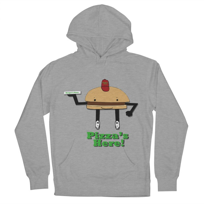 Burger Pizza Men's Pullover Hoody by cmschulz's Artist Shop