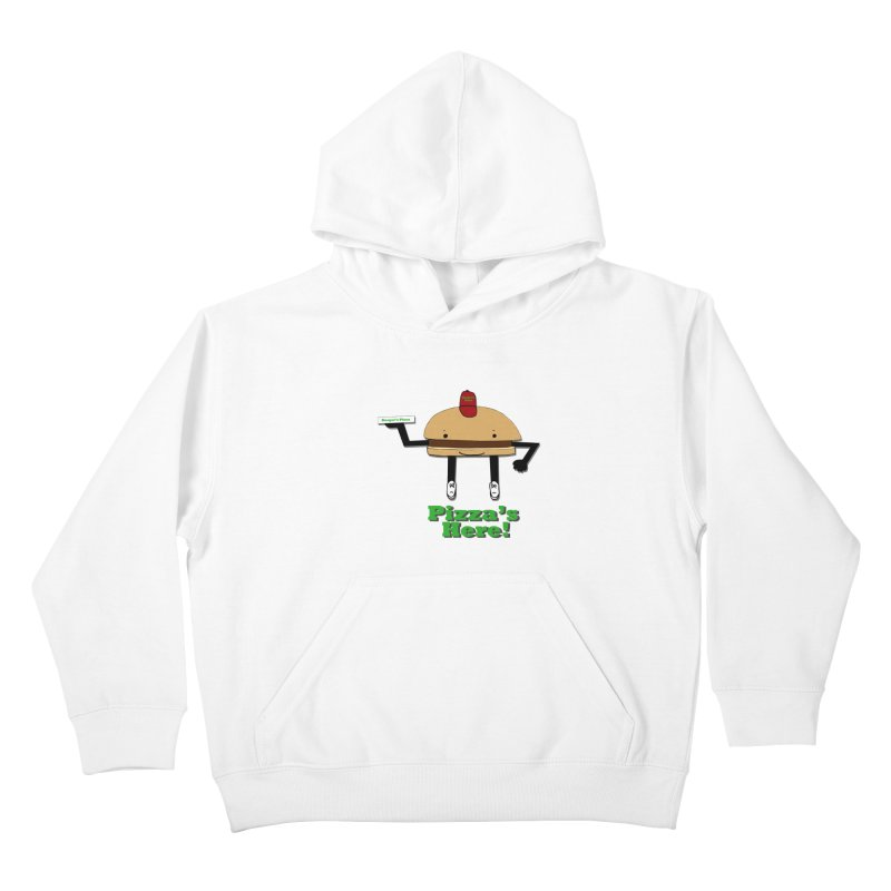 Burger Pizza Kids Pullover Hoody by cmschulz's Artist Shop