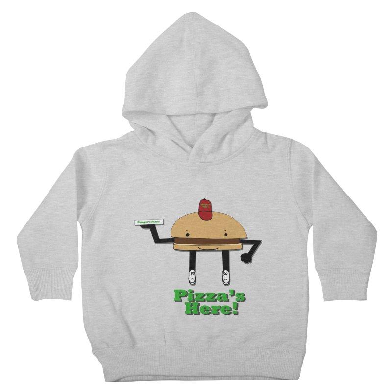 Burger Pizza Kids Toddler Pullover Hoody by cmschulz's Artist Shop