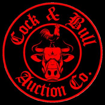 Cock & Bull Auction Company Merch Shop Logo