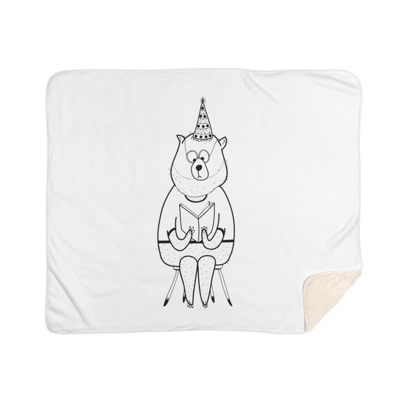 Bear Home Blanket by coclodesign's Artist Shop