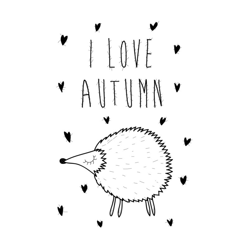 I love autumn by coclodesign's Artist Shop