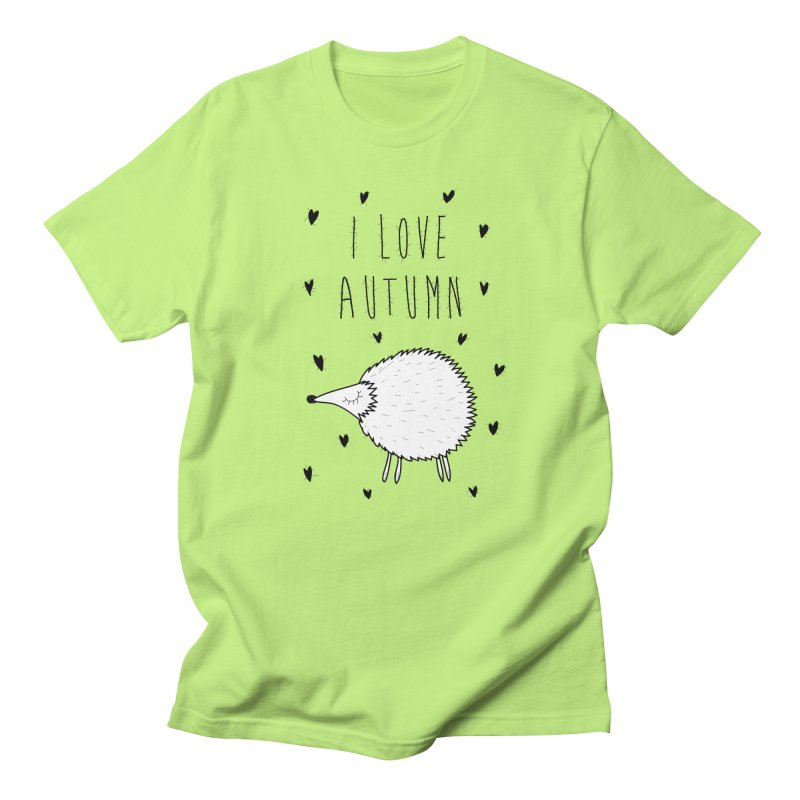 I love autumn Men's T-Shirt by coclodesign's Artist Shop