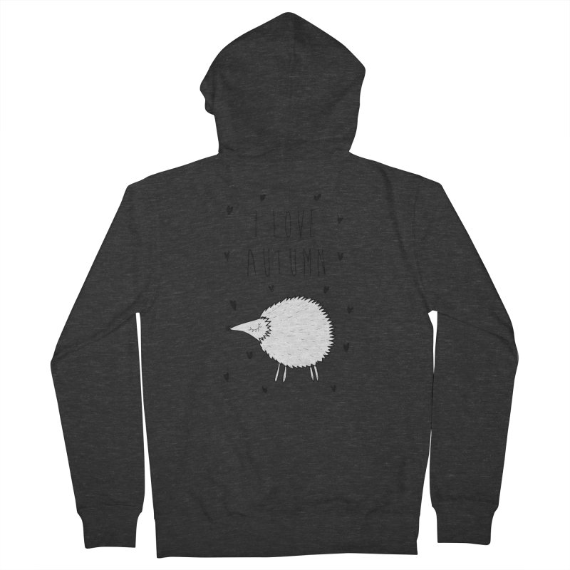I love autumn Men's French Terry Zip-Up Hoody by coclodesign's Artist Shop