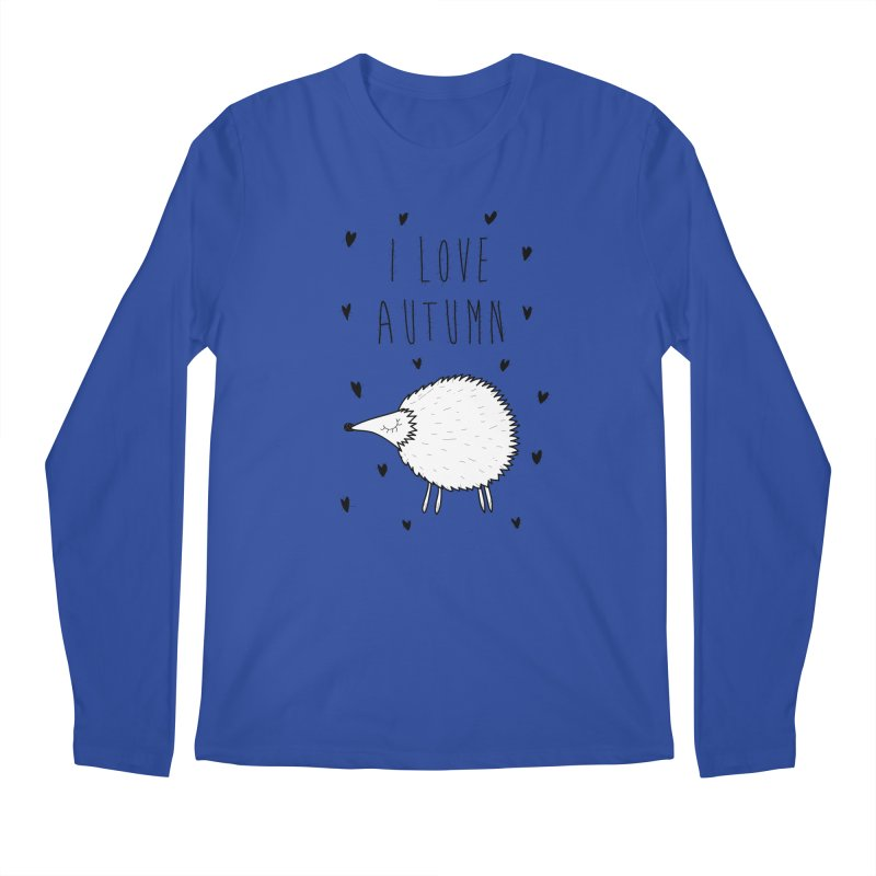 I love autumn Men's Longsleeve T-Shirt by coclodesign's Artist Shop