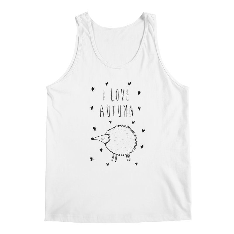 I love autumn Men's Tank by coclodesign's Artist Shop