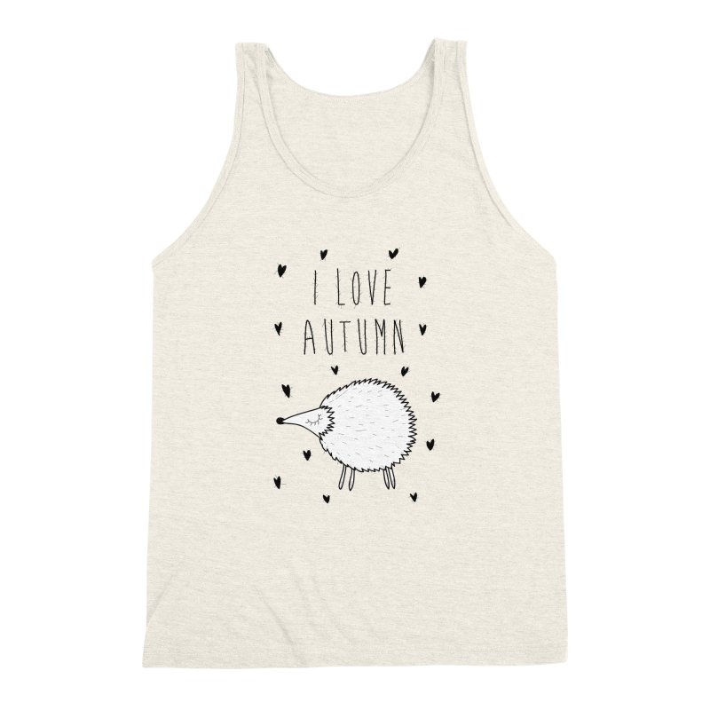 I love autumn Men's Triblend Tank by coclodesign's Artist Shop