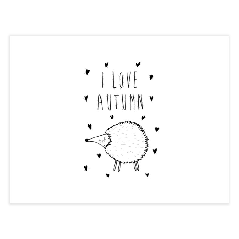 I love autumn Home Bath Mat by coclodesign's Artist Shop