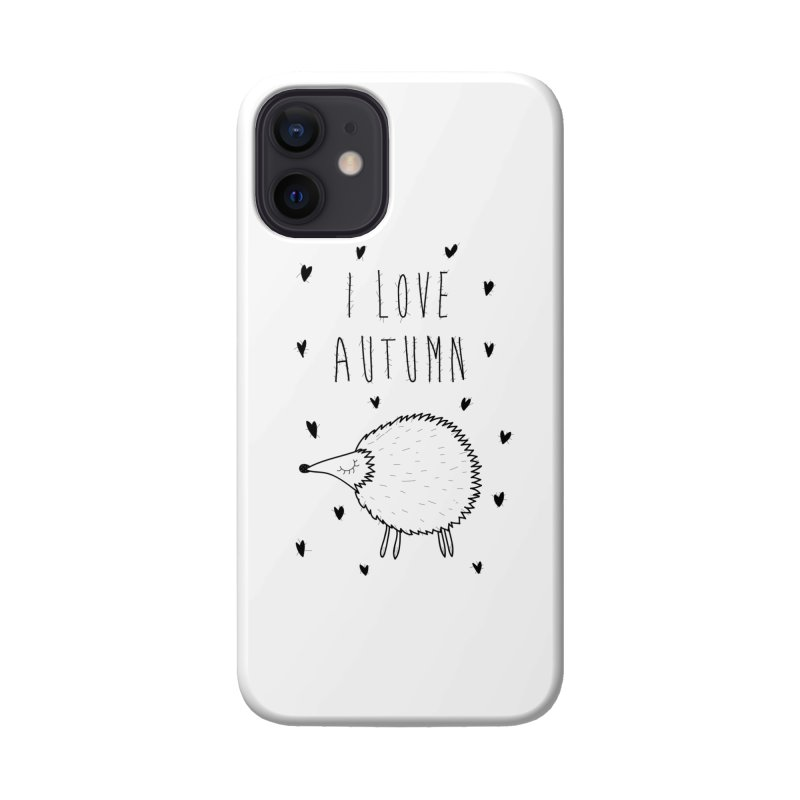 I love autumn Accessories Phone Case by coclodesign's Artist Shop