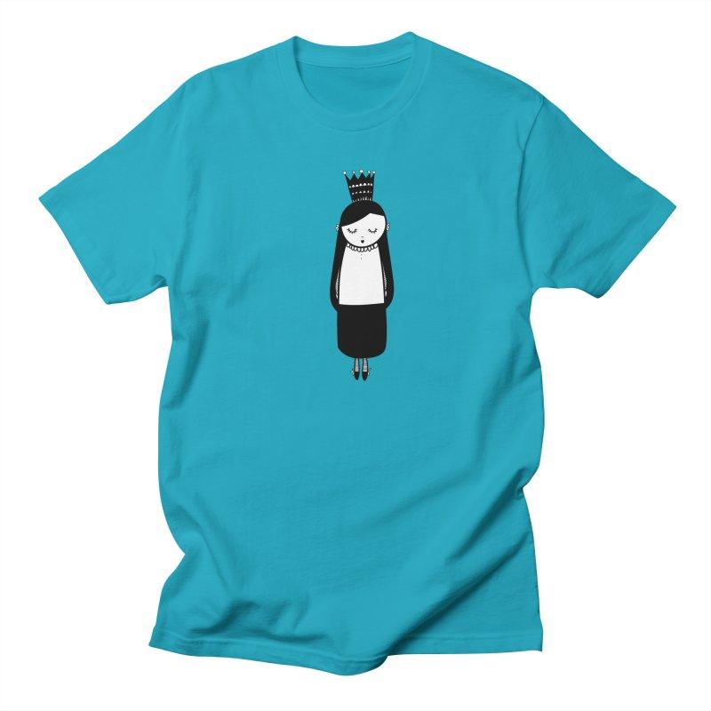 Little girl Women's Regular Unisex T-Shirt by coclodesign's Artist Shop