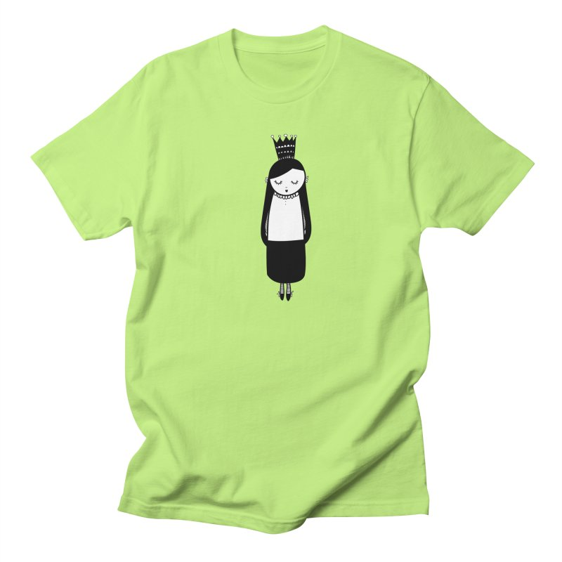 Little girl Women's Regular Unisex T-Shirt by coclodesign's Artist Shop