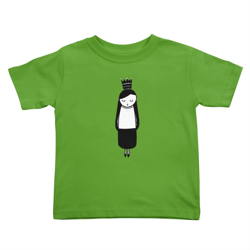 Little girl Kids Toddler T-Shirt by coclodesign's Artist Shop