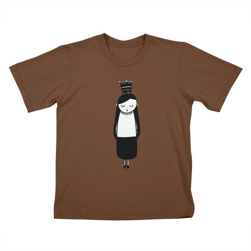 Little girl Kids T-Shirt by coclodesign's Artist Shop