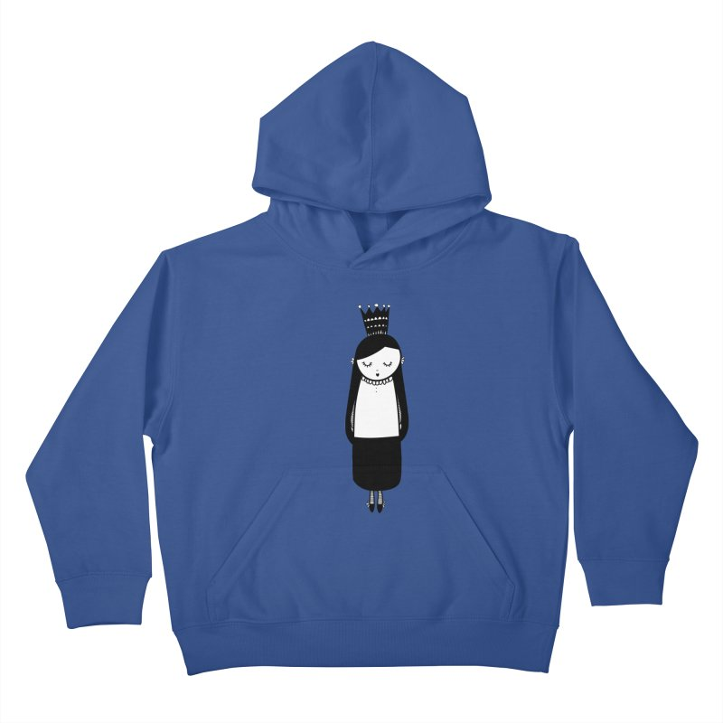 Little girl Kids Pullover Hoody by coclodesign's Artist Shop