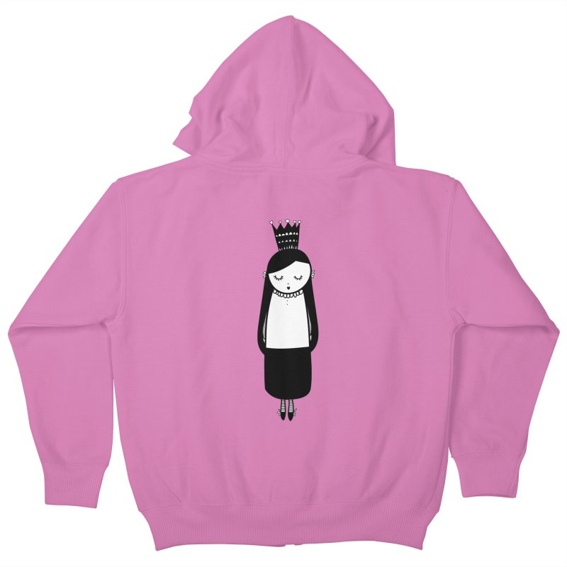Little girl Kids Zip-Up Hoody by coclodesign's Artist Shop