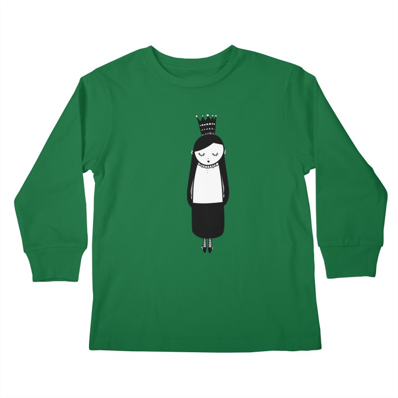 Little girl Kids Longsleeve T-Shirt by coclodesign's Artist Shop